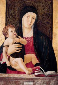Madonna and Child, Giovanni Bellini, c. 1465.
