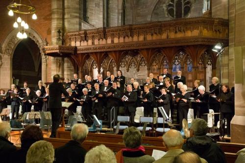 Southport Bach Choir. December 2013.